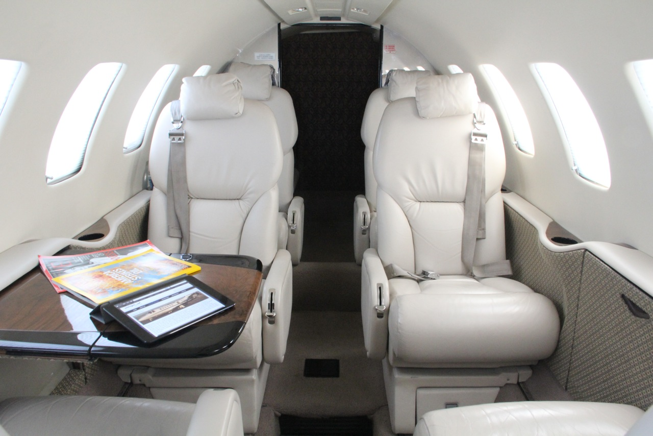 Paragon Airways Citation Bravo 51V Interior