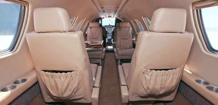 CITATION V  INSIDE